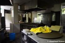 Abandoned Hotel Kitchen