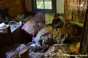Messy Room In An Old Japanese House