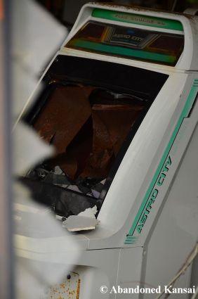 Astro City Cabinet Beyond Repair