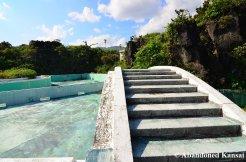 Bridge Across The Pool