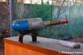 Abandoned Futuristic Gun At Western Village