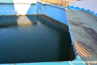 Abandoned Dolphinarium Pool