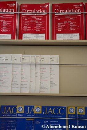 Three English Medical Journals On Display
