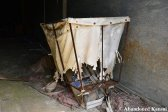 Abandoned Laundry Cart