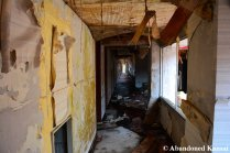 Moldy Hotel Corridor