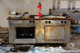 Vandalized Hotel Kitchen