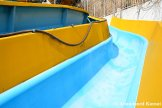 Blue And Yellow Water Slide