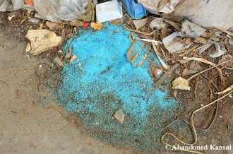 Blue Glass Raw Material
