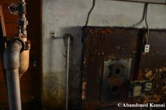 Rusty Crematorium Equipment