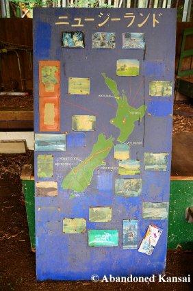 High-Tech New Zealand Map