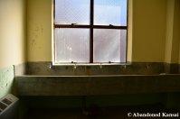 Abandoned Youth Hostel Bathroom