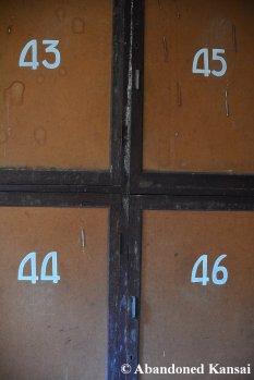 Abandoned Youth Hostel Locker