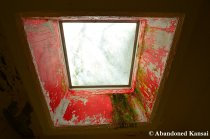 Red Ceiling Window