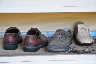 Abandoned Golf Shoes