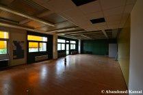 Verlassenes Lehrerzimmer