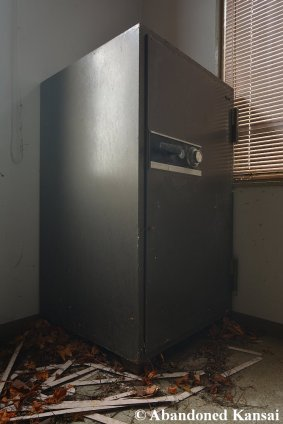 Abandoned Large Safe