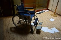 Abandoned Hotel Wheelchair