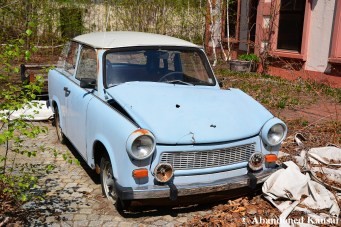 Abandoned East German Car