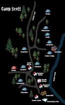 Camp Scott Map