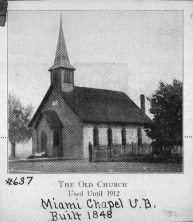 Miami Chapel United Brethren Church