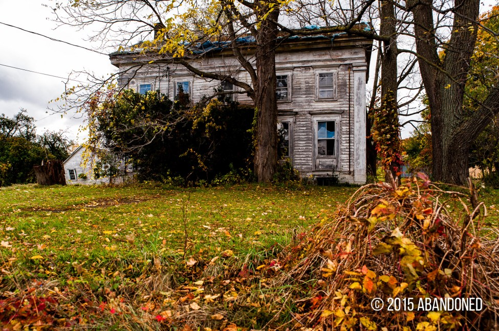 Abandoned residence near Dryden, New York