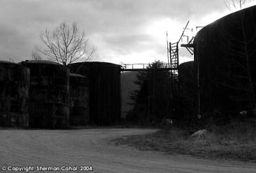Texas Company Oil Refinery