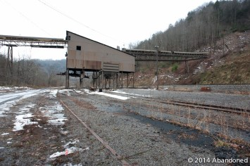 Island Creek Coal Virginian Pocahontas operation at Whitewood, Virginia