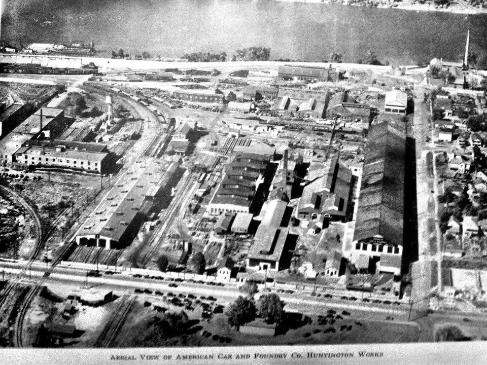 American Car and Foundry Company, Huntington, West Virginia