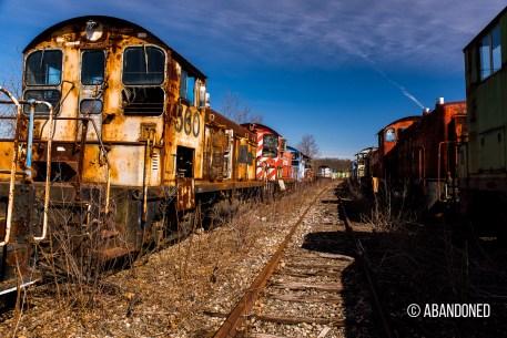 Amtrak 560 EMD SW9