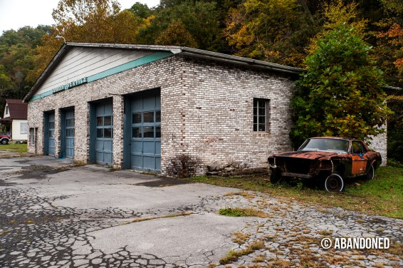 Gasoline Station Near Mullens West Virginia