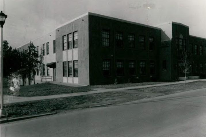 Taft Hall (Building 12) at Wassaic State School