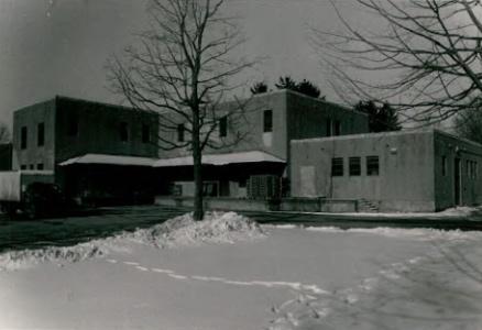 Storehouse (Building 17) at Wassaic State School