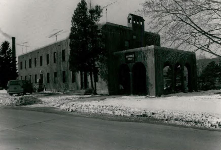 Gordon Hall (Building 20) at Wassaic State School
