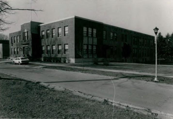 Barton Hall (Building 3) at Wassaic State School