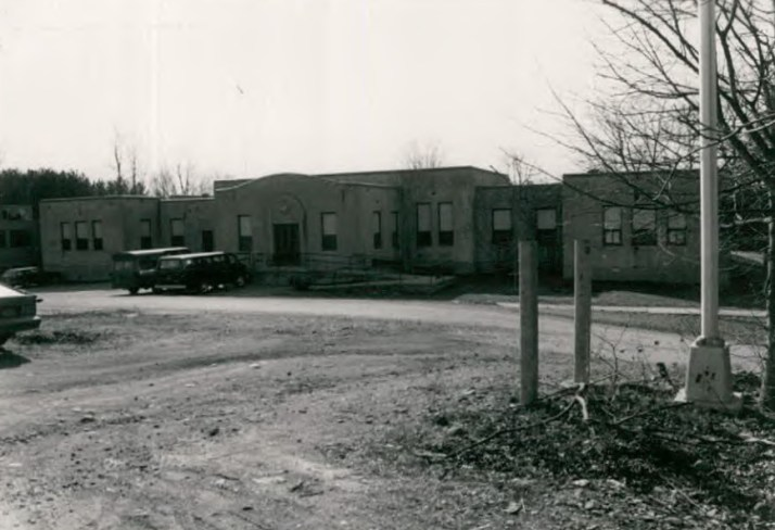 Piaget Hall (Building 54) at Wassaic State School