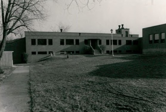 Grant Hall (Building 55) at Wassaic State School