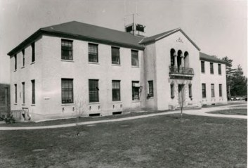 Administration Building (Building 57) at Wassaic State School