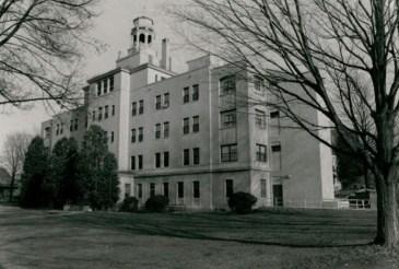 Hospital (Building 58) at Wassaic State School