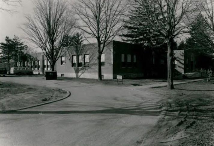 Franklin Hall (Building 7) at Wassaic State School