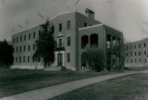 Residence Hall (Building 9) at Wassaic State School