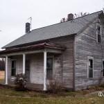 Abandoned Clapboard Sided House