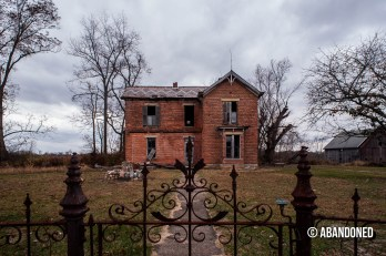 Abandoned Brick House