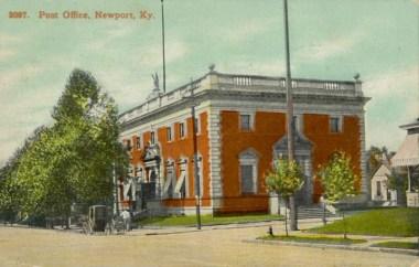 Newport Post Office Postcard