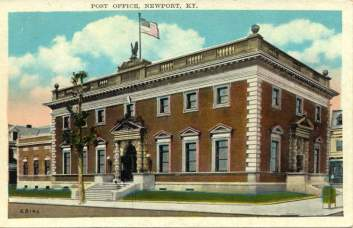 Newport Post Office Postcard
