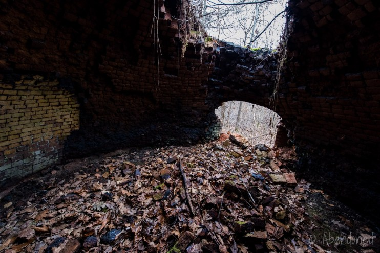 An abandoned beehive coke oven in western Pennsylvania.