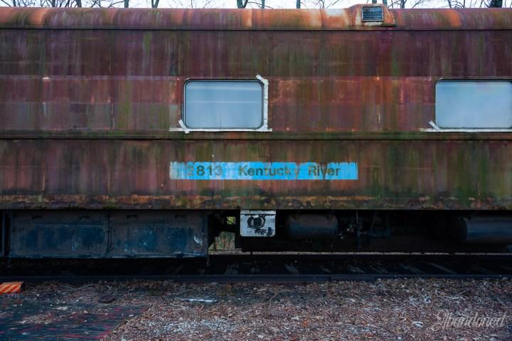 Amtrak (former Louisville & Nashville Railroad) AMTK 2813 Passenger Car
