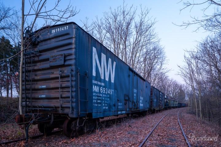 Norfolk Western Railway Boxcar