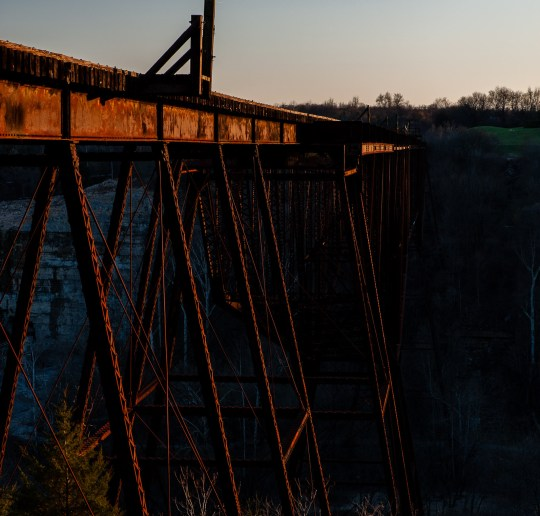 Young's High Bridge, Louisville & Southern Railway Lexington to Lawrenceburg Division