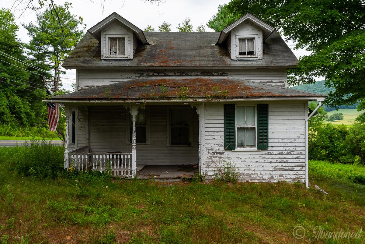 Abandoned Columbia County House