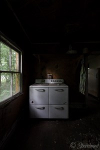 Abandoned Dutchess County House Kitchen
